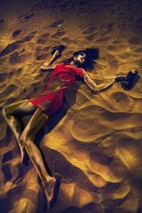 Model Desert Dubai