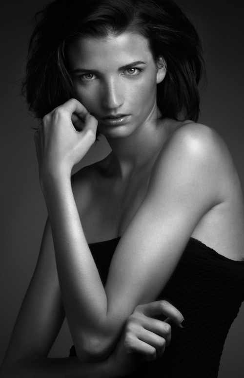 Sophie, Elite, New York, portrait